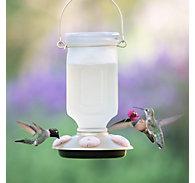 Perky-Pet® Sun-Kissed Top-Fill Glass Hummingbird Feeder - 22 oz Nectar Capacity