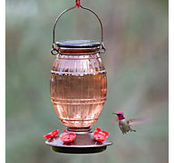 Perky-Pet® Prohibition Top-Fill Glass Hummingbird Feeder - 36oz Nectar Capacity