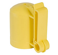 Zareba® Yellow T-Post Safety Cap & Insulator