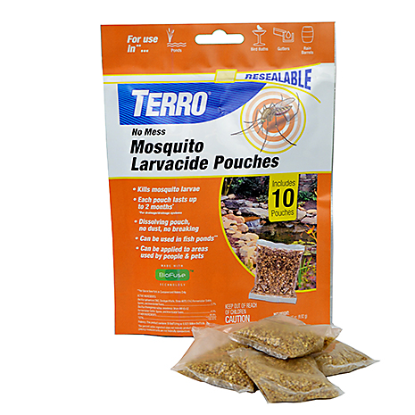 no mess mosquito larvacide