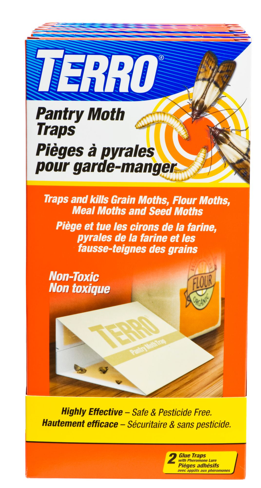 Terro 174 Pantry Moth Traps Woodstream Canada