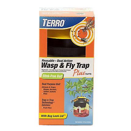 Terro 174 Wasp Amp Fly Trap Plus Fruit Fly T514 Www