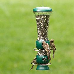 Garden Song® Select-A-Bird Tube Bird Feeder