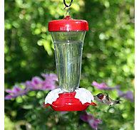 Perky-Pet® Etched Top-Fill Plastic Hummingbird Feeder
