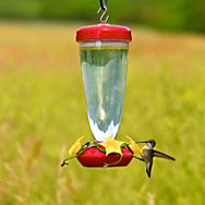 Perky-Pet® 24 oz Top Fill Plastic Hummingbird Feeder with Free Nectar
