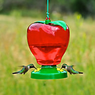 Perky-Pet® Apple Plastic Hummingbird Feeder - 48 oz Nectar Capacity