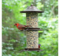 Perky-Pet® 2-Tier Panorama Bird Feeder - 4.5 lb Seed Capacity