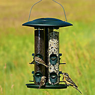 Birdscapes® Safari Triple Tube Wild Bird Feeder