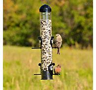 Perky-Pet® Squirrel Shield Tube Feeder - 1 lb Seed Capacity