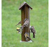 Perky-Pet® Wood-Style Metal Tube Bird Feeder
