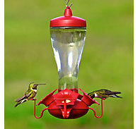 Perky-Pet® Glass Hummingbird Feeder - 10 oz Nectar Capacity