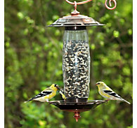 Perky-Pet® Sip or Seed Bird Feeder & Waterer