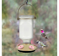 Perky-Pet® Sun-Kissed Top-Fill Glass Hummingbird Feeder