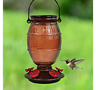 Perky-Pet® Prohibition Top-Fill Glass Hummingbird Feeder