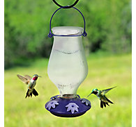 Perky-Pet® Grand Oasis Top-Fill Glass Hummingbird Feeder