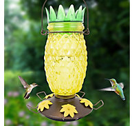 Perky-Pet® Pineapple Top-Fill Glass Hummingbird Feeder