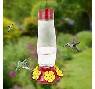 Perky-Pet® Top-Fill Grand Master Glass Hummingbird Feeder - 48 oz