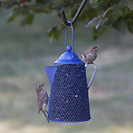 NO/NO® Coffee Pot Mesh Bird Feeder
