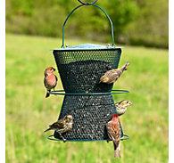 Perky-Pet® Hourglass® Forest Green Wild Bird Feeder