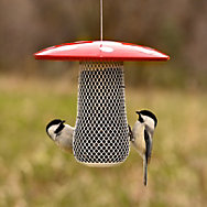 Perky-Pet® Mushroom Mesh Bird Feeder - .7 lb Seed Capacity
