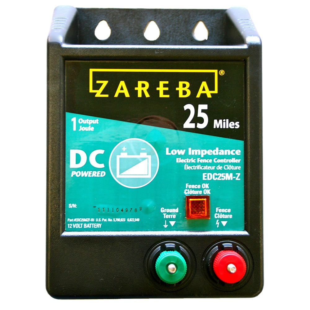Zareba 174 25 Mile Battery Operated Low Impedance Fence