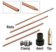 Zareba® Copper Sectional Ground Rod Kit