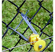 Zareba® Chain Link Insulator, yellow