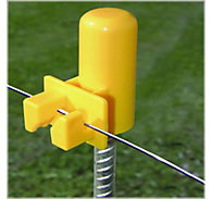 Zareba® Safety Cap Round Post Insulator