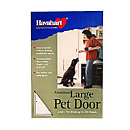 Havahart® Large Aluminum Dog Door