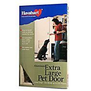 Havahart® Extra Large Aluminum Dog Door
