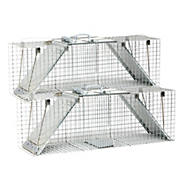 Havahart® Large 2-Door Easy Set® Trap - 2 Pack