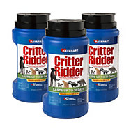 Critter Ridder® Animal Repellent Granular 5 lb - 3 Pack & FREE SHIPPING