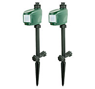2 Pack - Havahart® Spray Away®  - Motion Activated Sprinkler Repellent