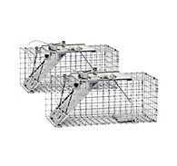 Havahart® Small 1-Door Easy Set® Trap - 2 Pack