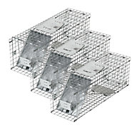 Havahart® Medium 1-Door Collapsible Trap - 3 Pack