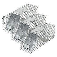Havahart Medium 1-Door Collapsible Trap 3-Pack