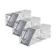 Havahart® Large 1-Door Collapsible Trap - 3 Pack