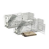 Havahart® Feral Cat Trap Rescue Kit - 2 Pack