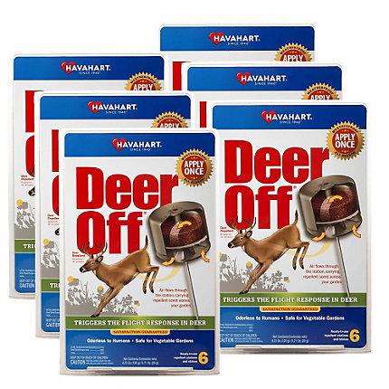 Deer Off® Waterproof Deer Repellent Stations – 36 Pack