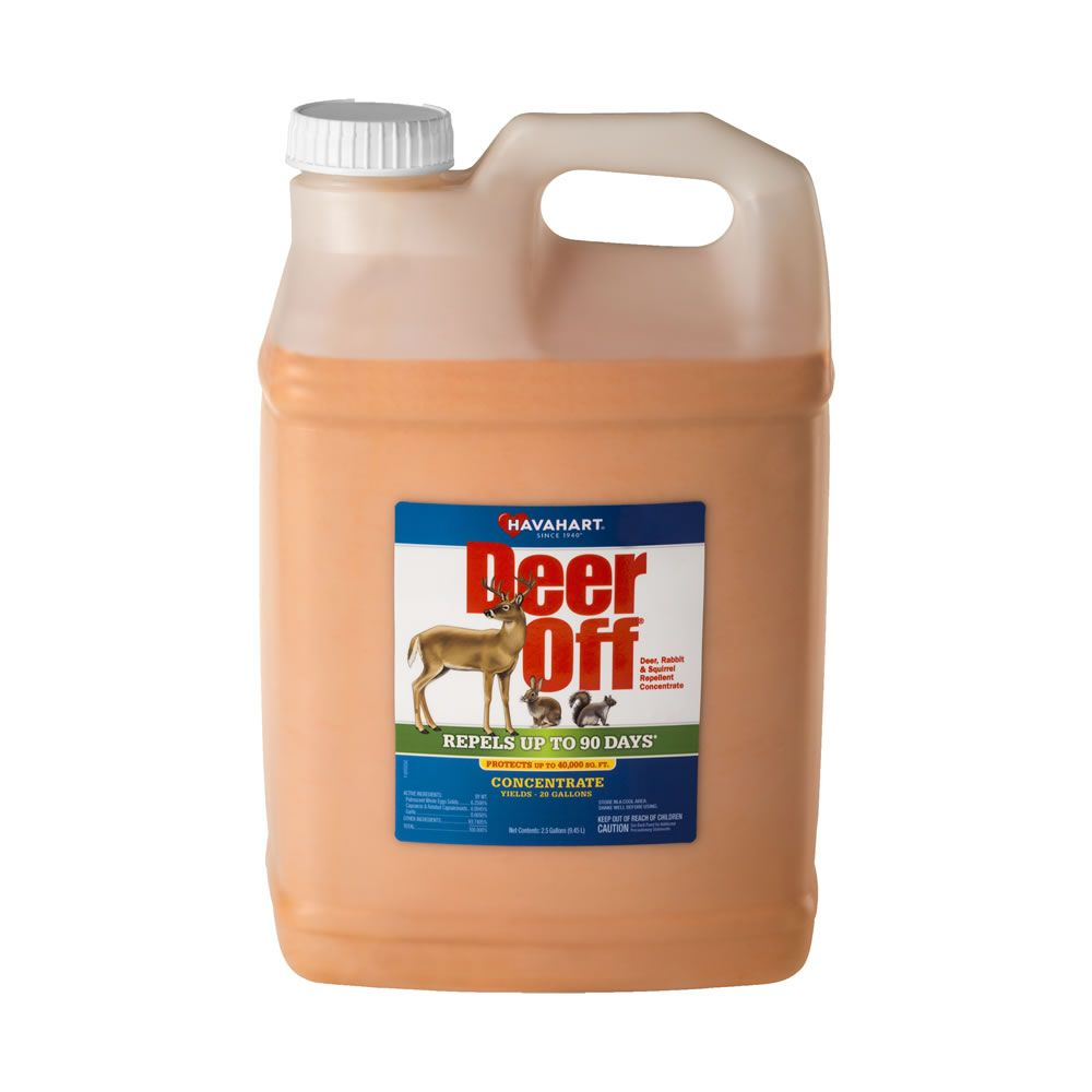 deer off concentrate pest repellent for large yard commercial
