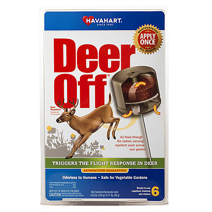 Deer Off® Waterproof Deer Repellent Stations – 6 Pack
