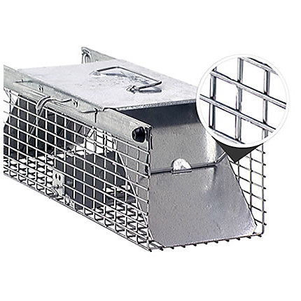 Small 2-Door Live Animal Trap