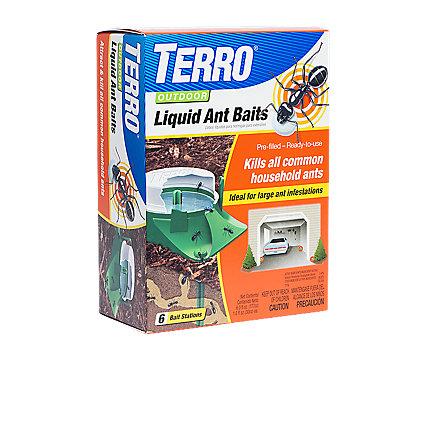 TERRO® Outdoor Liquid Ant Baits - 12 Pack