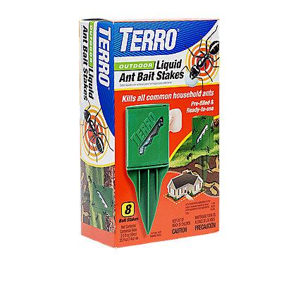 TERRO® Outdoor Liquid Ant Bait Stakes - 6 Pack