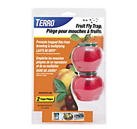 TERRO® Fruit Fly Traps – 2 pack