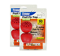 TERRO® Fruit Fly Trap - 2 Pack