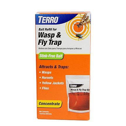 Terro 174 Wasp Amp Fly Trap Refill T517 Www
