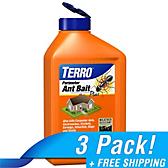 TERRO® Perimeter Ant Bait Plus - 3 Pack