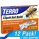 TERRO® Indoor Liquid Ant Baits - 12 Pack