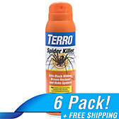 TERRO® Spider Killer Spray - 6 Pack